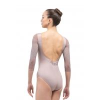Ballet Rosa Rosella Dames Balletpak Grijs Achterkant