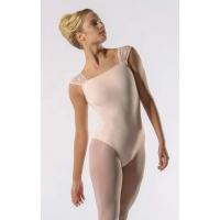 Ballet Rosa Dauphine Balletpak Zalmroze Vierkante Halslijn