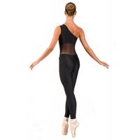 Ballet Rosa Magali Unitard Zwart Achterkant