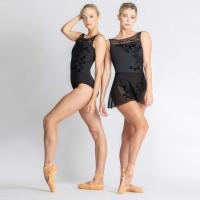 Ballet Rosa Leonie Zwart Wikkelrokje Voorbeeld