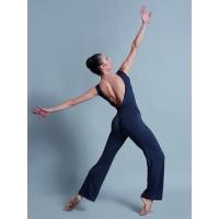 Ballet Rosa Yume Unitard met Lage Rug en Wijde Pijpen