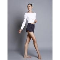 Ballet Rosa Hoshi Danstop met Boatneck en lange mouwen