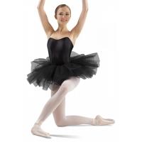 zwarte dames Tutu BalletRokje LD138LT professional 12