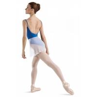 dames wikkel BalletRok R5130 half transparant wit