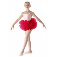 Bloch meisjes Ballet Dans Tutu LD152CT Bando rood