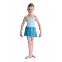 Bloch meisjes Ballet Rokje Barre CR5110 Zeeblauw