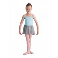 Bloch meisjes Ballet Rokje barre grijs CR5110