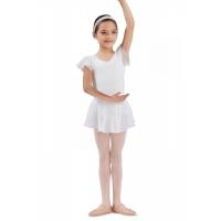 Bloch meisjes Ballet Rokje CR5161 Olesia wit