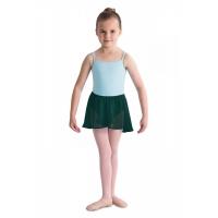 donker groen meisjes Ballet Rokje bloch CR5110 Barre