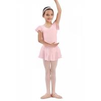meisjes Ballet Rokje olesia zalm roze CR5161