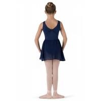 meisjes Ballet Rokje Barre Navy bloch cr5110