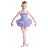 Bloch Desdemona Girls Tutu Leotard Paars