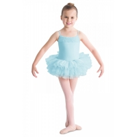 Bloch Desdemona Girls Tutu Leotard Blauw