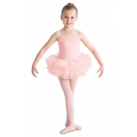 Bloch Desdemona Girls Tutu Leotard Roze