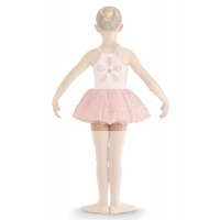 Bloch Addelyn Heart Mesh Tutu Skirt CR8111 Roze