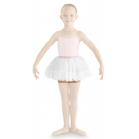 Bloch Addelyn Heart Mesh Tutu Skirt CR8111 Wit