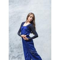Grishko Warm-Up Unitard Lang blauw