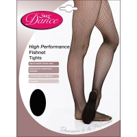 Silky Dance High Performance Fishnet Panty voor dansers
