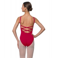 Lulli Dames Balletpak Veronica dark red