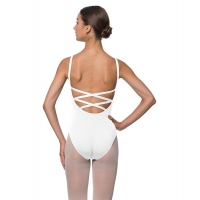 Lulli Dames Balletpak Veronica wit