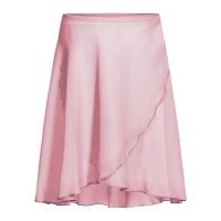 Rumpf 3050 chiffon balletrokje voor dames roze overslag
