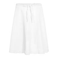 Rumpf RU3050 chiffon wikkelrok wit polyester