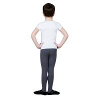 Sansha Santino Y3051C T-shirt voor Jongens Wit Achterkant
