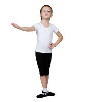 Sansha Jennie Y0451C Zwarte Halflange dans Legging voor Kinderen