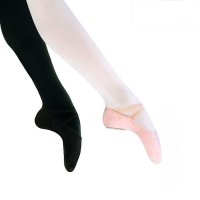 Sansha Stretch-One M001HC Canvas Balletschoenen met Suède Splitzool