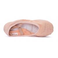 Sansha Havana 357X Roze Balletschoen met Gekruiste Elastieken