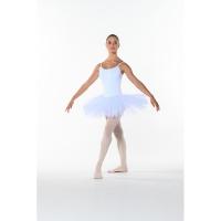 Balletpakje met tutu wit Dansez-Vous Poema