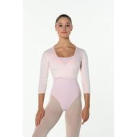 Dansez-Vous Fluffy Roze Balletvestje voor Kinderen