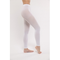Dansez-Vous P102 voetloze balletpanty kinderen wit
