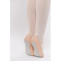 Dansez-Vous Ana Lederen Balletschoenen met Doorlopende Zool