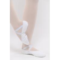 Dansez-Vous Vanie Elastische balletschoenen voor Kinderen Wit