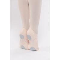 Dansez-Vous Vanie Elastische balletschoenen voor Kinderen Roze