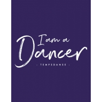 Temps Danse rugtas Sarah I Am a Dancer logo