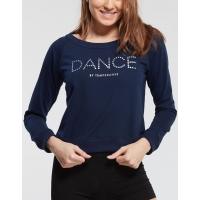 Temps Danse Dans Sweater Talia JR Dots navy